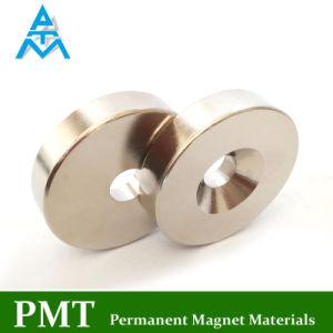 Materiale magnetico di NdFeB dell'anello di N35m D45 con neodimio