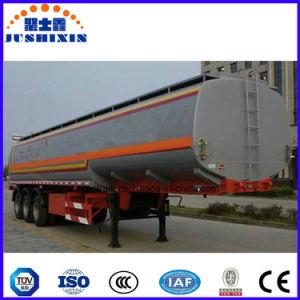 3 Wellen-Rohöl-Tanker-Transport-Kraftstofftank-halb Schlussteil