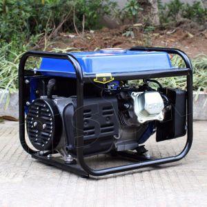 Bison 1Kw Recoil iniciar gerador de Mini Gasolina Portátil