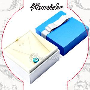 Precio mayorista de joyas de papel delicadas cajas de papel cartón de embalaje