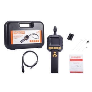 Gl9018 2.3 Pantalla color endoscopio de inspección de tubos de 8mm de grabación DVR cámara W/Funda flexible tubo ampliada