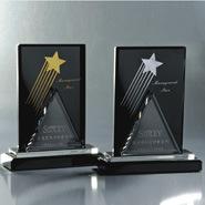 La moda de diseño exclusivo Premio Trofeo de cristal personalizado