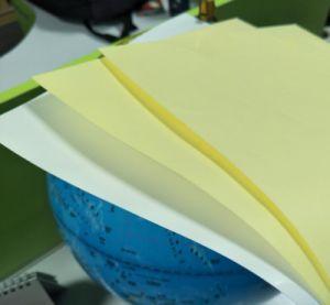 2108 nueva inyección de tinta resistente al agua la impresión de etiqueta Pet transparente A4
