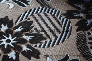 Tessuto operato della mobilia del Chenille della tintura della parte del reticolo