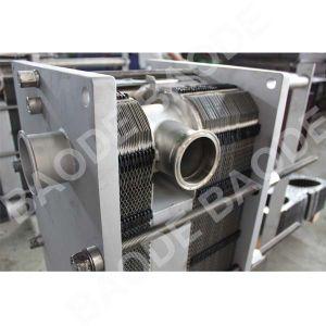 En acier inoxydable 316 Plaque sanitaires Échangeur de chaleur pour l'alimentation de la pasteurisation