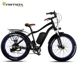 Tipo bici eléctrica de la montaña de MTB del crucero de la playa hecha en China