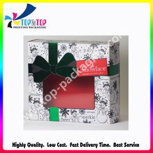 Пользовательские размеры переработки бумага с покрытием свадьбы картонной коробки