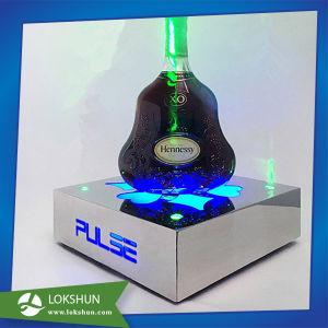 LED personnalisé bouteille Présentoir en métal glorifier acrylique