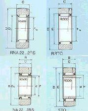 Roletes da esteira - Sem orientação Axial