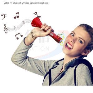 Vación K1 teléfono móvil Bluetooth Wireless Mini Micrófono de Karaoke