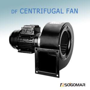 (DF) Baixo ruído de ventilador centrífugo de escape mudo para ventilação da indústria