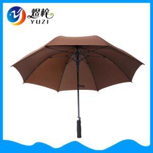 선전용 주문 방풍 층 자동적인 광고 똑바른 골프 우산