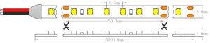 1210 3528 9.6W 120 светодиодов IP68 водонепроницаемый 24V газа светодиодный индикатор