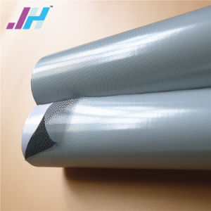 O PVC transparente removível visão de uma via para a construção de vidro de vinil