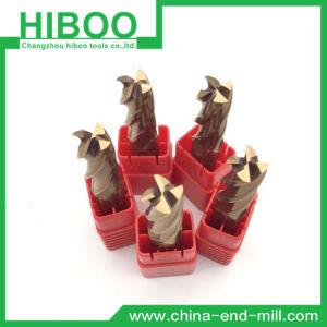 Cheap Solid Carbide Extrémité carrée Mill pour les aciers