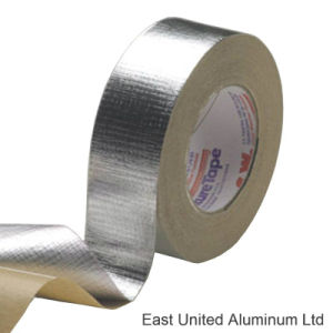 Muestras gratis de cintas autoadhesivas de papel de aluminio con fuego