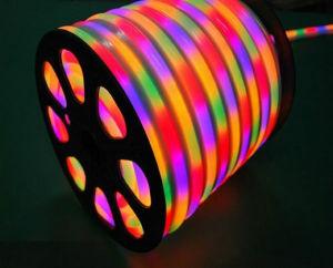 El Color RGB LED flexibles de luz de neón de 60 LED 12V