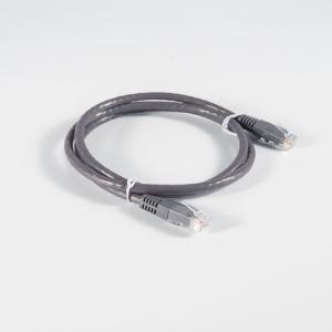 Pase de Fluke Gris oscuro Cat 5e UTP Cable de conexión para ordenador Bc/Patch panel 3m