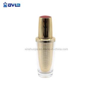 Capacidades diferentes garrafas de plástico UV Gold exclusivo com Gold-Red Topo