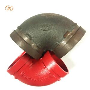 ASTM-A536 accesorios de tubería codo racores con precio de fábrica de hierro dúctil