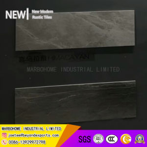 薄い灰色30X90光沢のある陶磁器の壁のタイル