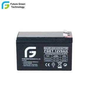 12V 9Ah Stock de fábrica VRLA UPS de alta capacidad de batería solar