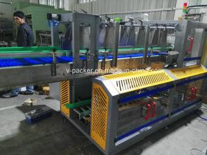 Automático de velocidad rápida botellas planas caso/máquina de llenado de la Caja para el paquete de medicina