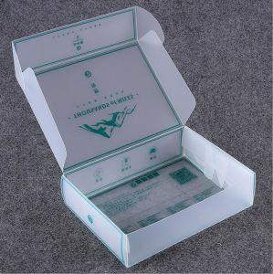 Semi-Transparent PVC容器のプラスチックによって曇らされるボックス