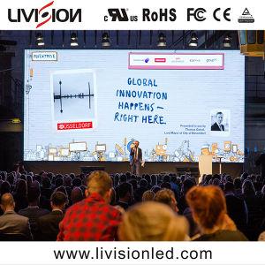 500mmx500mm P3.9/4...8 Fase de LED Vídeo Wall/Visor LED de iluminação de audiovisual do pano de fundo