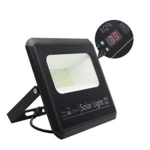 屋外の太陽センサーの洪水ライトをつける高い明るさの統合されたアルミニウム防水機密保護40W