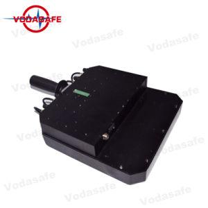 De Draagbare 6baste Stoorzender van de hoge Macht/Blocker, de Macht van de Output 80W; Straal 20100m, Al Mobiele Telefoon 3G/2g (GSM/CDMA/DCS) /4glte/Wi-Fi2.4G, het Kanon van de dekking van de Stoorzender van de Hommel