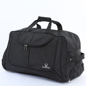 Мода портативный полиэфирная ткань Oxford Duffel Trolley сумка для переноски