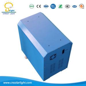 Br500W-60ah солнечные домашние системы освещения в комнате и семьи