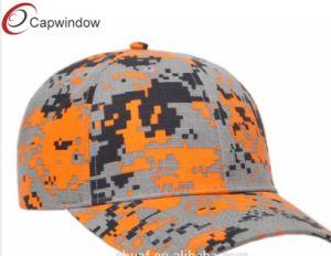 O algodão Bordados Rip Stop Digi Camo boné e Hat (18090807)