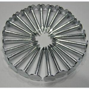 De witte zink-Geplateerde Grote Kopnagel van GLB Met Uitstekende kwaliteit
