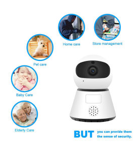 Drahtlose IP-Kamera CCTV-Kamera-Selbstbewegung, die intelligente Hauptkamera 1080P Jd_Y5 aufspürt