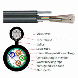 Prfv Núcleos 2-144 GYTC8S exterior à prova de cabo de fibra óptica