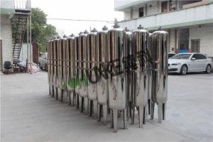 Mini Veräusserung- des gesamten Vermögensindustrielle Sandfilter-Systems-Wasser-Filter-Maschine