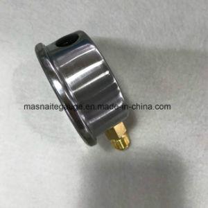 La Cina ha fatto il manometro inferiore riempito liquido variopinto del collegamento della manopola per la pompa