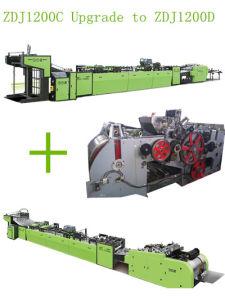 Zdj-1200C Upgrade para Zdj-1200D Saco de papel automático fazendo a máquina