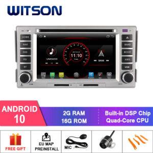 Четырехъядерные процессоры Witson Android 10 DVD-плеер для автомобилей Hyundai Santa Fe 2007-2011 2g 16 ГБ ОЗУ ПЗУ