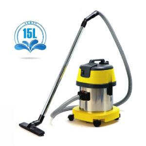 Electric sec et humide Aspirateur en acier inoxydable 15L