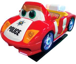 [3د] مرئيّة فائقة شرطيّ [كيدّي] سيارة [ريد سمولتور] [أموسمنت برك] عملة مزح يشغل قنطرة [غم مشن]