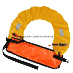 Hot-Selling Chaleco salvavidas inflables Kayak militar estilo correa