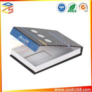 De Ontwerpen die van de Verpakking van de Gift van het Document van de douane Vouwend het Vakje van het Document afdrukken