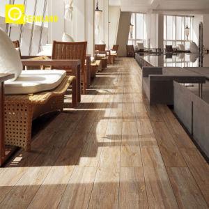 Вилла класса люкс фарфора древесины с остеклением керамические плитки пола