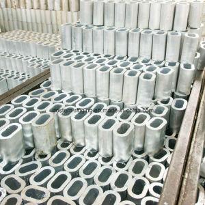 El cable de acero prensado jarcia de precio de fabricación