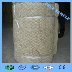 100% de Malha de Arame Hydrophobe Placa de Lã de Rocha/ cobertor