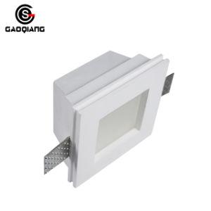 Gips-Decken-Lampe des Pflaster-quadratische Oberfläche eingehangene LED unten helle für HauptGqd2004