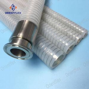 ステンレス鋼の螺旋形ワイヤーが付いている衛生シリコーンのホース
